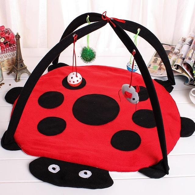 cutecatslovers beetle / M Two in One - Cat Bed And Playground - The Best Place For your Cat to have a good time