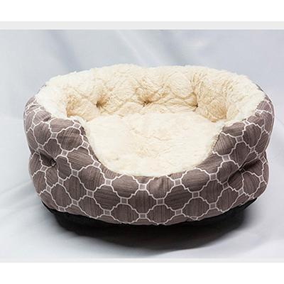 cutecatslovers Beige / 45X40X18 cm Comfortable Soft and Warm Bed For Cats (Ultra Softness for Deep Sleeping)