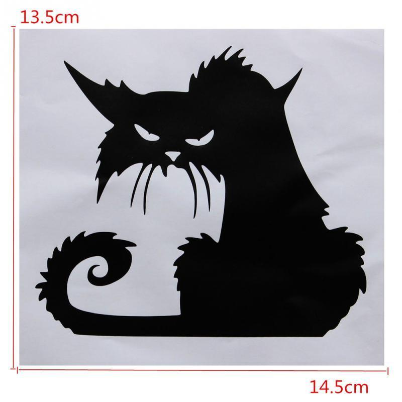 cutecatslovers Black Cats Decor Decals for Walls, Home Decoration