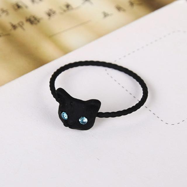 cutecatslovers Black Hot Sale Cute Popular Women Ring