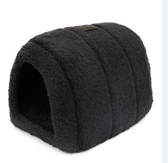 cutecatslovers Black / M / China Soft Cat House for Indoors - Lovely hideout for your Cat