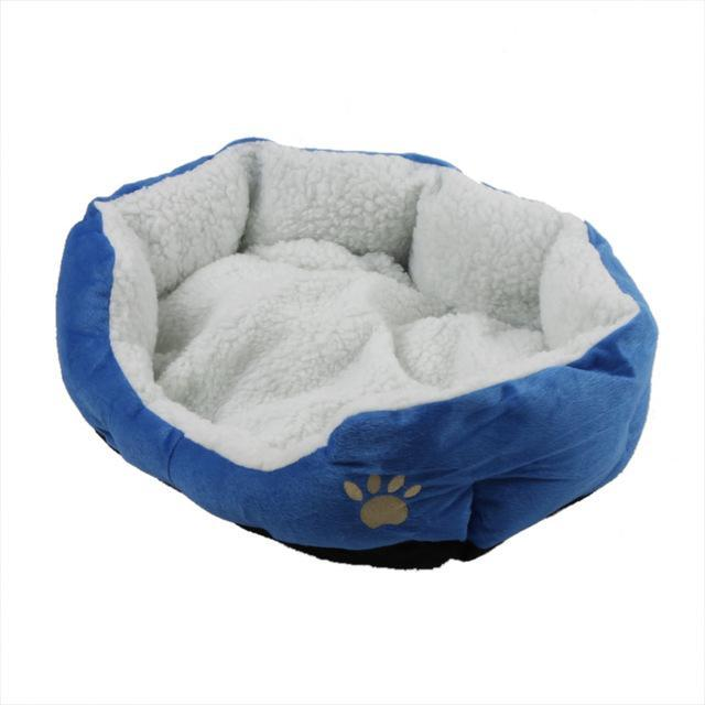 cutecatslovers Blue / M Cute Soft Cat Bed With Beautiful Colorful Design