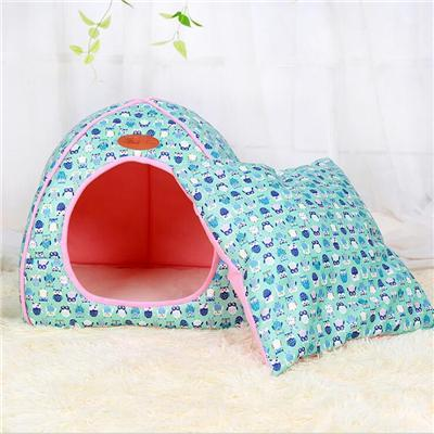cutecatslovers Blue / S 27x27x28cm Soft Cat Bed that is also Warm, Washable Tent, Dirt-resistant