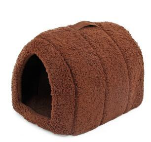 cutecatslovers Brown / M / China Soft Cat House for Indoors - Lovely hideout for your Cat