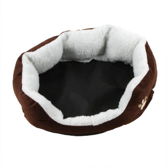 cutecatslovers Brown / M Cute Soft Cat Bed With Beautiful Colorful Design