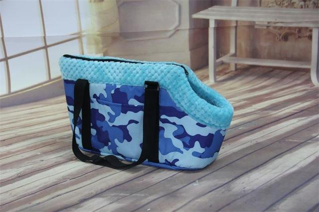 cutecatslovers Camouflage Blue / S Fashion Cat Carrier Bag That will Make You and Your Cat Stand out From The Crowd