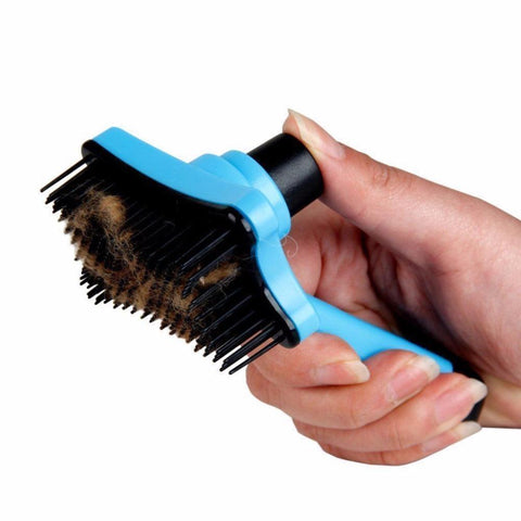 cutecatslovers Cat Fur Hair Grooming / Shedding Brush, Usefull for Quick Clean