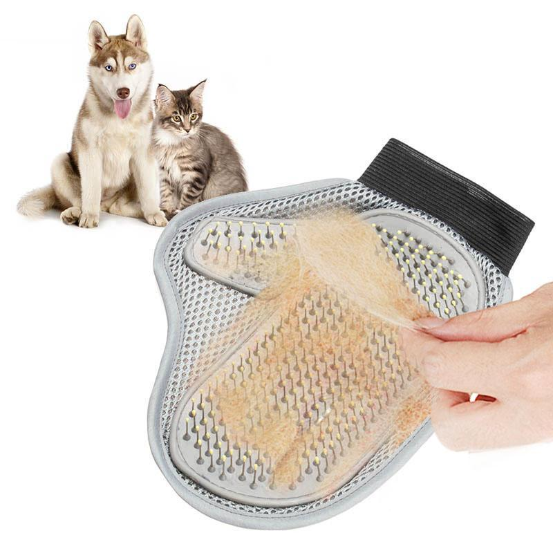 cutecatslovers Cat Hair Brush Glove for Cats Hair Grooming Will make Your Cat Shine Again