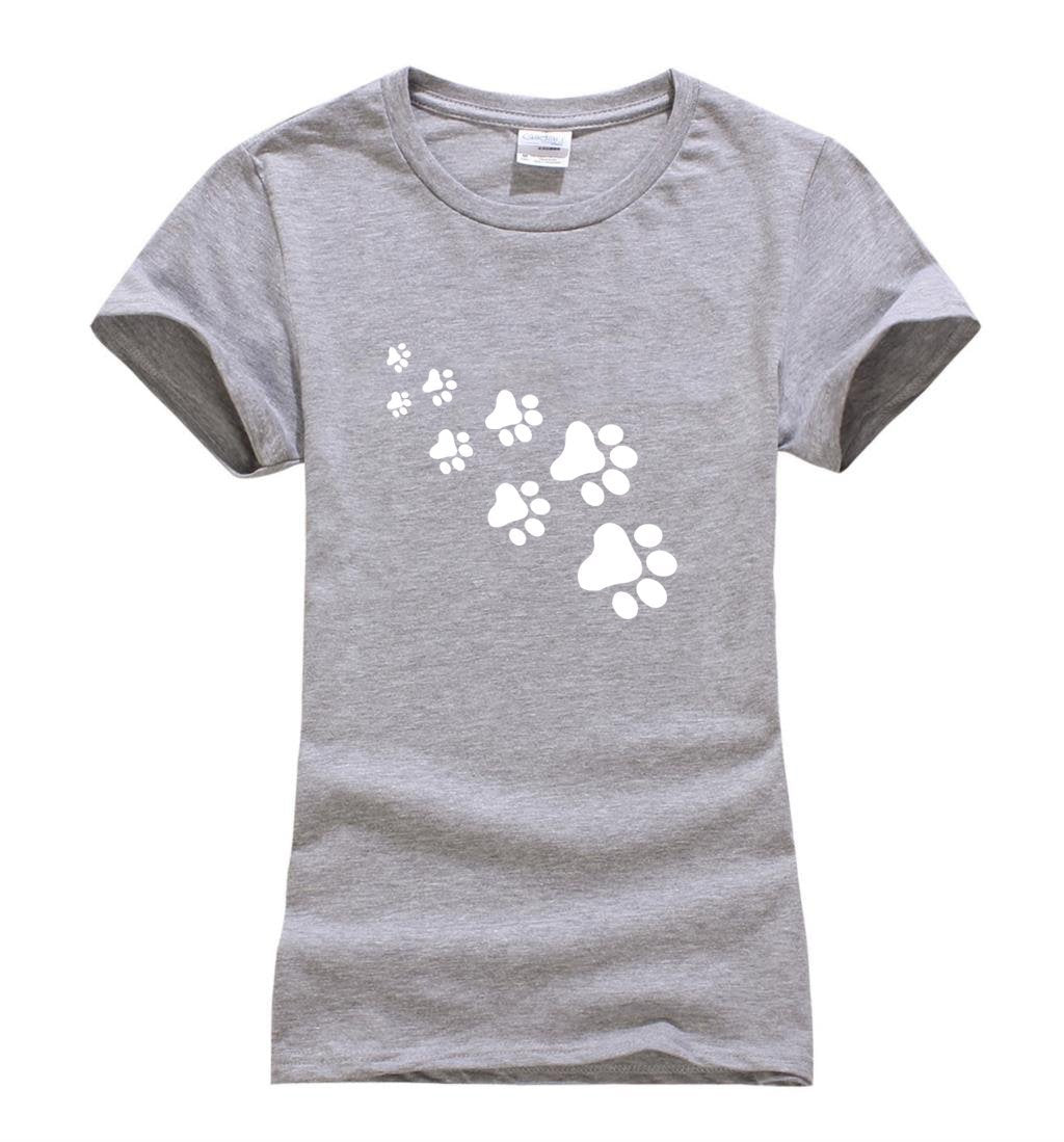 cutecatslovers Cat Paws Fashion T-Shirt