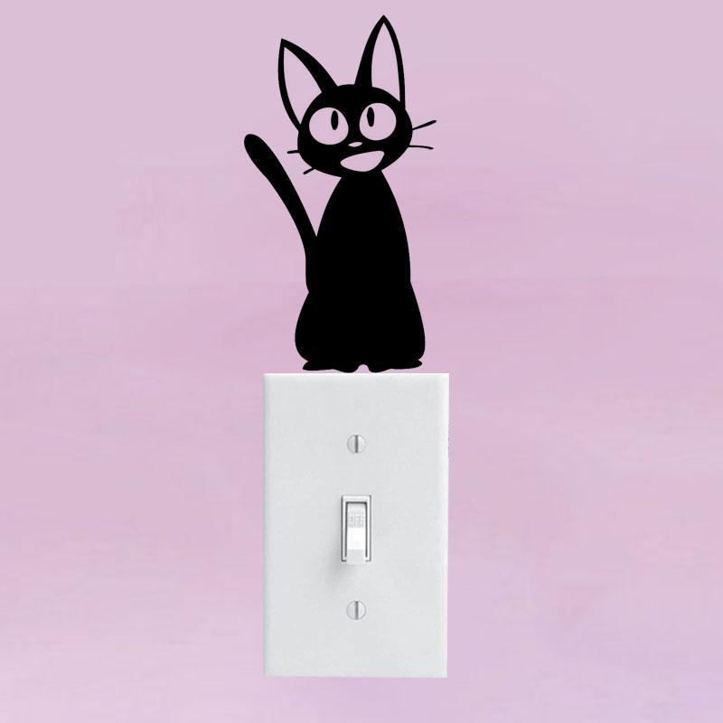cutecatslovers Cat Switch Vinyl Decal Sticker