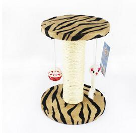 cutecatslovers Coffee / XS Cat Scratch Board Training Toy, Tree With Ball For your Cat