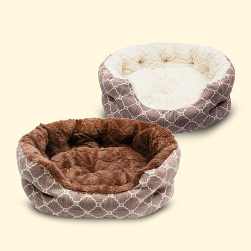 cutecatslovers Comfortable Soft and Warm Bed For Cats (Ultra Softness for Deep Sleeping)