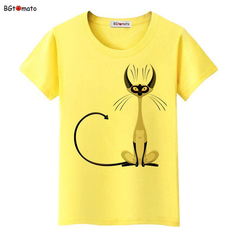 cutecatslovers Cool Cat Trendy T-Shirt