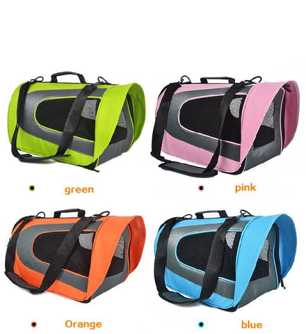 cutecatslovers Cute Portable Travel Bag For Cats Availible in Multiple Colors