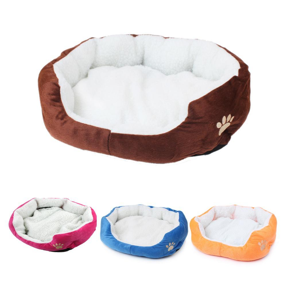cutecatslovers Cute Soft Cat Bed With Beautiful Colorful Design