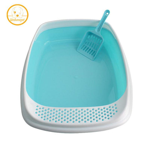 cutecatslovers Demountable Enclosed Cat Litter With Litter Scoop