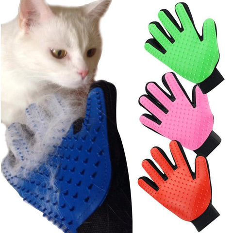 cutecatslovers Deshedding Brush Glove for Your Cat, Availible In Beautiful Colors