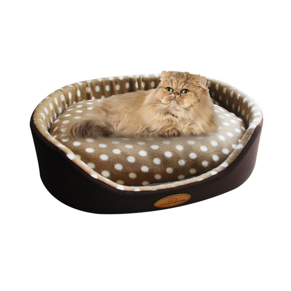 cutecatslovers Dual-use Pet Cat Bed Sleeping Nest Detachable House High Quality