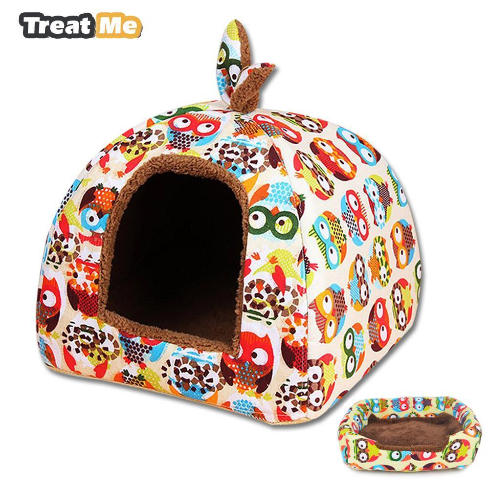 cutecatslovers Foldable Dual-use Cat House Warm, Soft, Great resting place for your cat