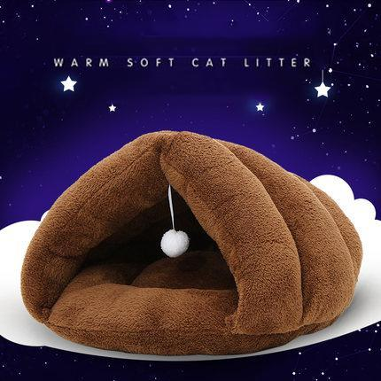 cutecatslovers Gold / S Very soft and Warm Bed for Cats