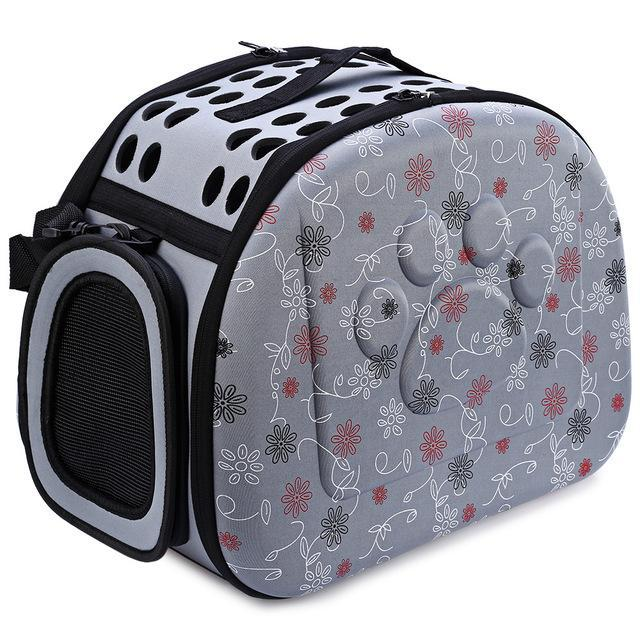 cutecatslovers Gray / 40 x 26x 32 cm Portable Cat Travel Carrier Shoulder Bag for Your Cat