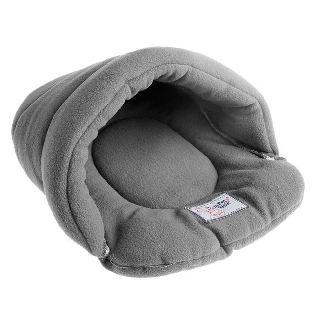 cutecatslovers Gray / L Warm, Soft Bed House Plush Cozy Nest For Your Cat