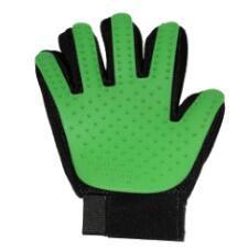 cutecatslovers Green / M Deshedding Brush Glove for Your Cat, Availible In Beautiful Colors