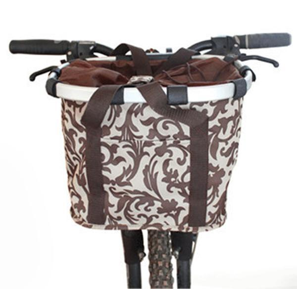 cutecatslovers High Quality Aluminium Mountain Bike Basket, Carrier For Your Cat