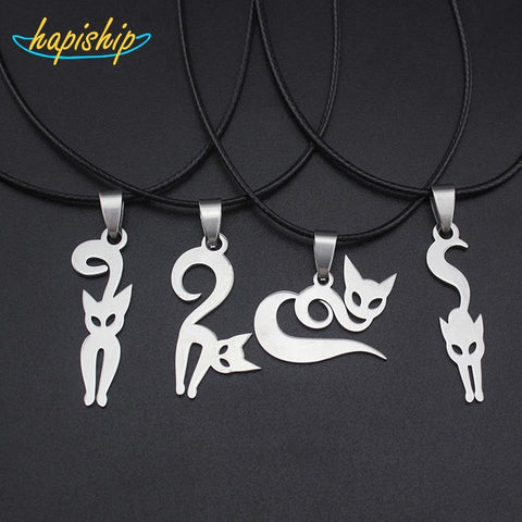 cutecatslovers Little Cute Cat 3.7cmX2.0cm Pendant Necklace