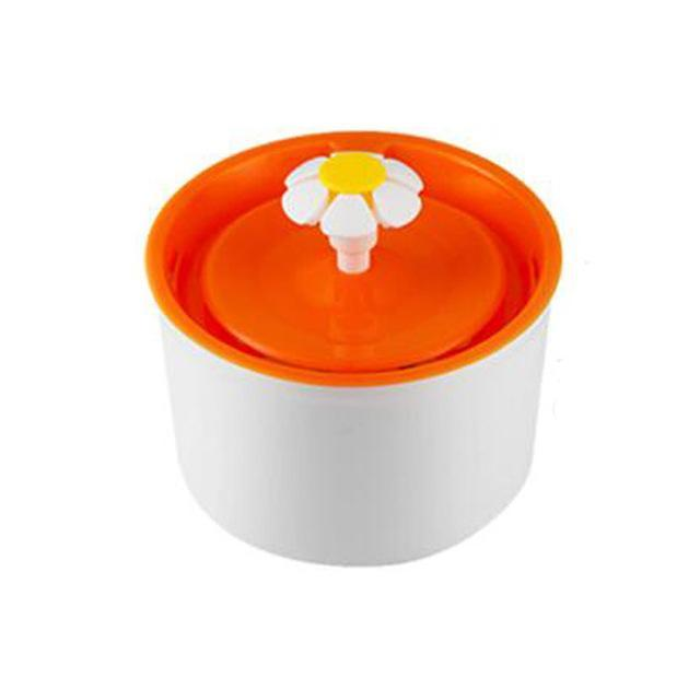 cutecatslovers Orange1 / EU Plug / 1.6L 1.6L Automatic Cat Feeding Watering Electric Drinking Fountain For your Cat