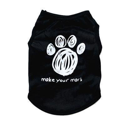 cutecatslovers paw / XS Cute Motives - Boss, Princess, Make Your Mark Summer Cat Shirt / Vest