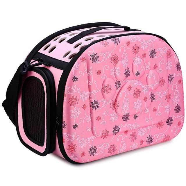 cutecatslovers Pink / 40 x 26x 32 cm Portable Cat Travel Carrier Shoulder Bag for Your Cat