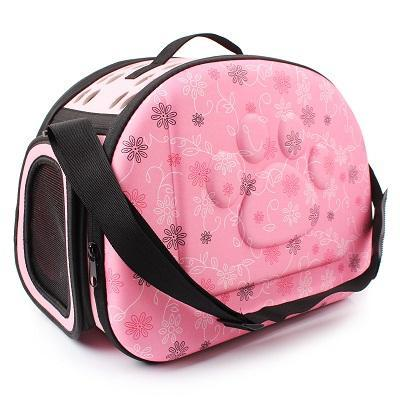 cutecatslovers Pink Cat Carrier Bag, Awesome Design With Cat Print