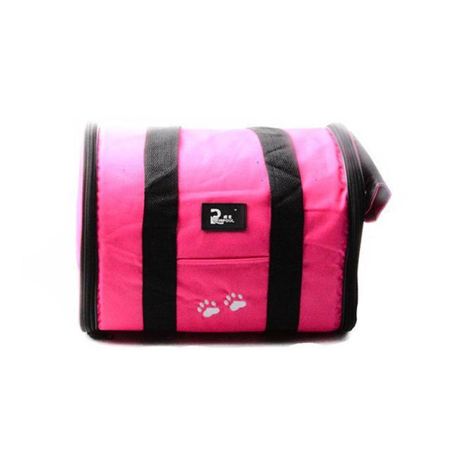 cutecatslovers Pink / M Cat Travel Bag Carrier, Availible in Multiple Colors and Sizes