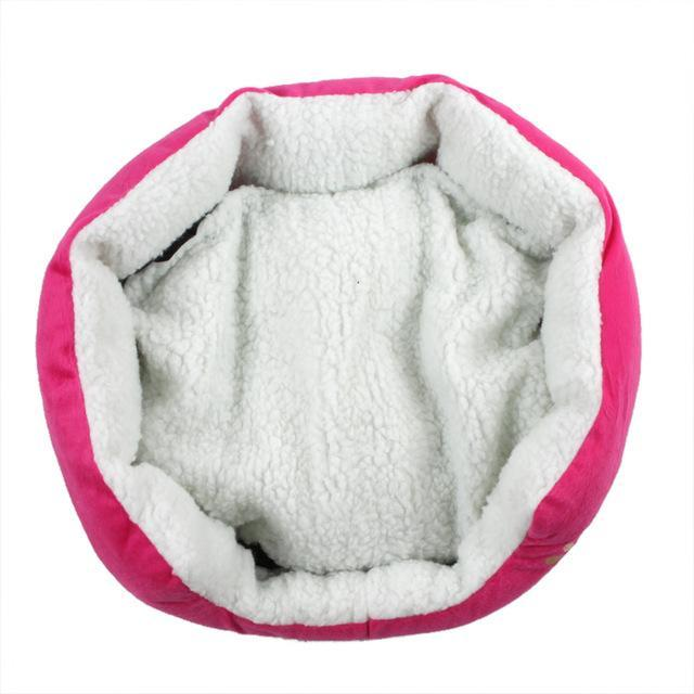 cutecatslovers Pink / M Cute Soft Cat Bed With Beautiful Colorful Design