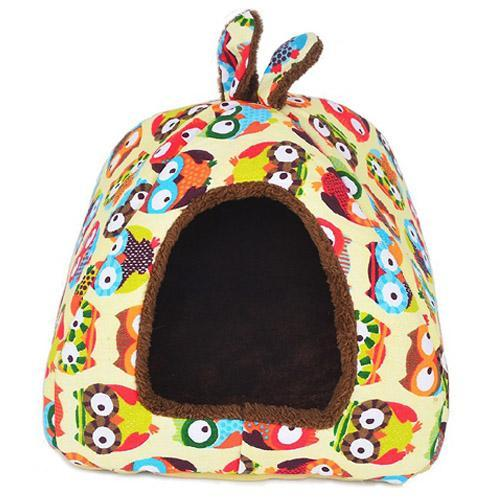 cutecatslovers PK306-MTY / L Foldable Dual-use Cat House Warm, Soft, Great resting place for your cat