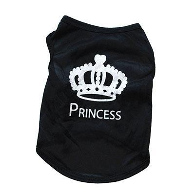 cutecatslovers princess / XS Cute Motives - Boss, Princess, Make Your Mark Summer Cat Shirt / Vest