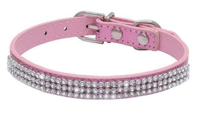 cutecatslovers PU 2 / M Pink Cute Cat Collar that your Cat will Love