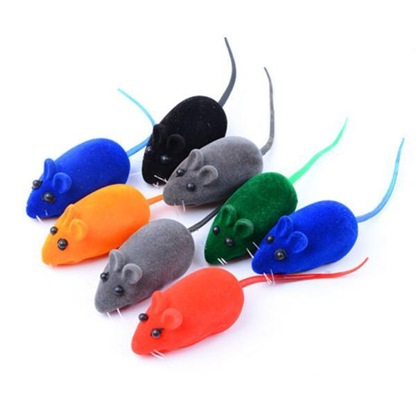cutecatslovers random color Colorful Cat Toy Ball Interactive Chewing Rattle Sound