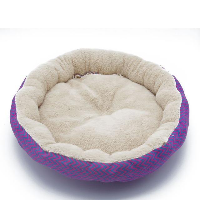 cutecatslovers Red Blue / L Fine joy Cat Bed Kennel, Very Soft Cushion for Your Cat