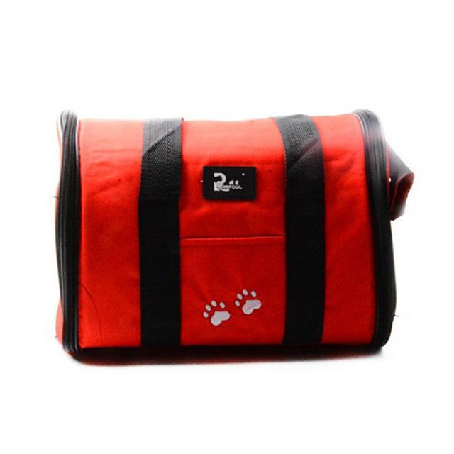 cutecatslovers Red / M Cat Travel Bag Carrier, Availible in Multiple Colors and Sizes