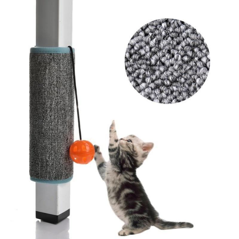 cutecatslovers Scratching Board Mat Pad Cat Sisal Loop Carpet Scratcher For Indoor Home Furniture Table, Chair, Sofa, Legs Protector