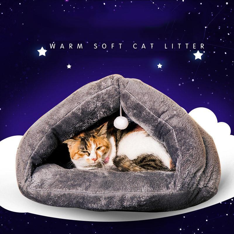 cutecatslovers Very soft and Warm Bed for Cats