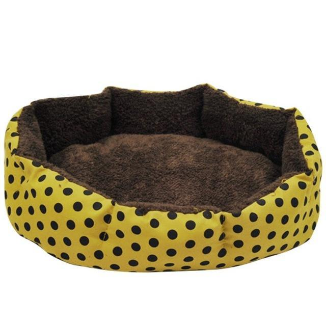 cutecatslovers Yellow / L Colorful Leopard Print Cat Resting Place