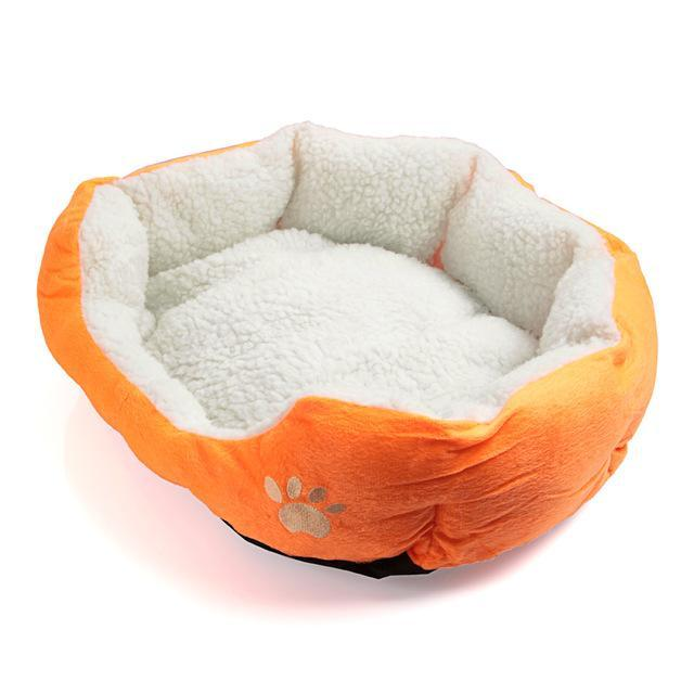 cutecatslovers Yellow / M Cute Soft Cat Bed With Beautiful Colorful Design
