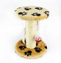 cutecatslovers Yellow / XS Cat Scratch Board Training Toy, Tree With Ball For your Cat