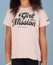 Be Line - Girl on a Mission. Be a visionary. T-Shirt