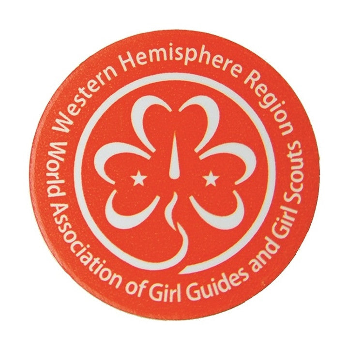 Western Hemisphere Pin Girl Guides Of Canada Guides Du Canada