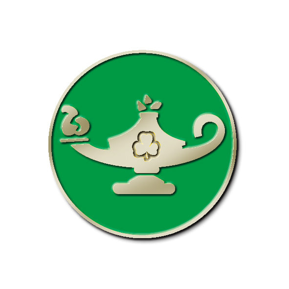 TEAM - OUTDOOR ACTIVITY LEADER PIN (GREEN)