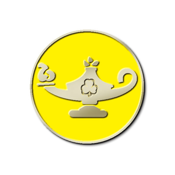 TEAM - ENRICHMENT PIN (YELLOW)